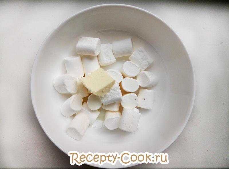 мастика из маршмеллоу рецепт