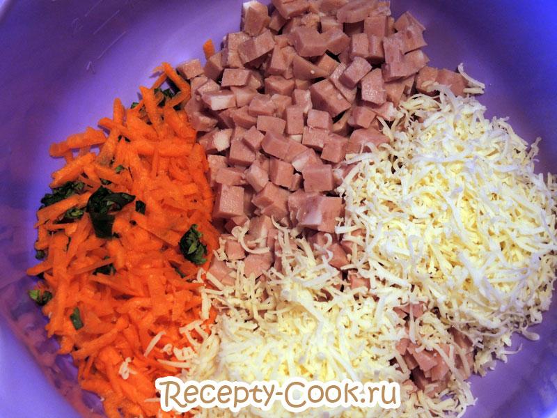 рисовая запеканка с ветчиной и сыром рецепт с фото