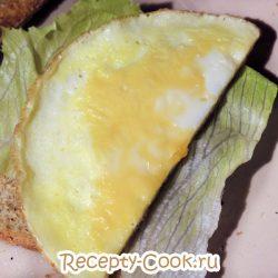 Сложный тост на завтрак