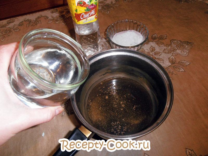 как приготовить соленую селедку