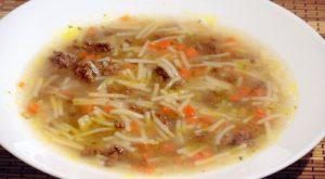 Суп «а-ля макароны по-флотски»