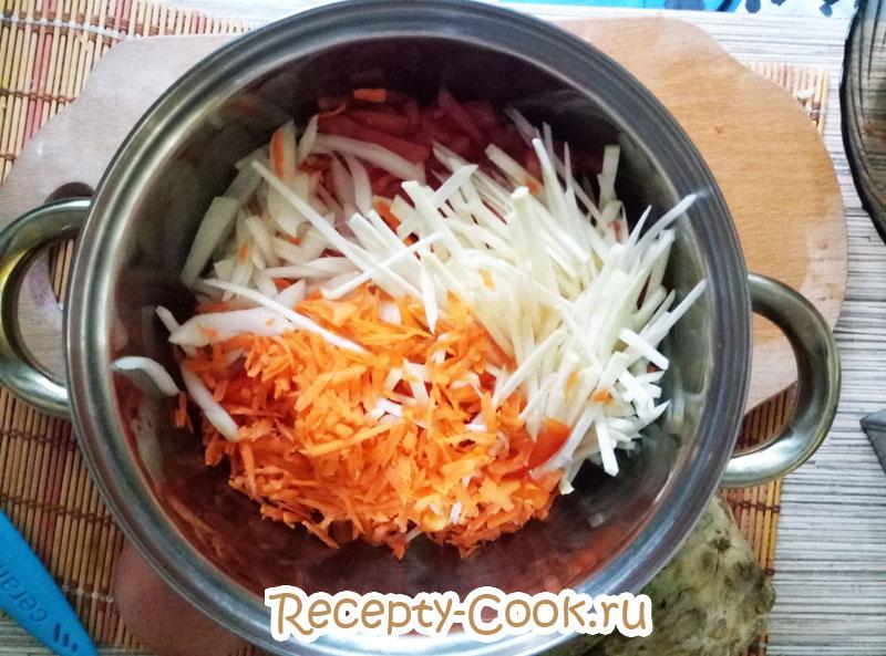 томатный суп фото
