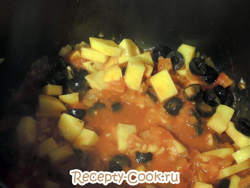 томатный суп с треской готовить