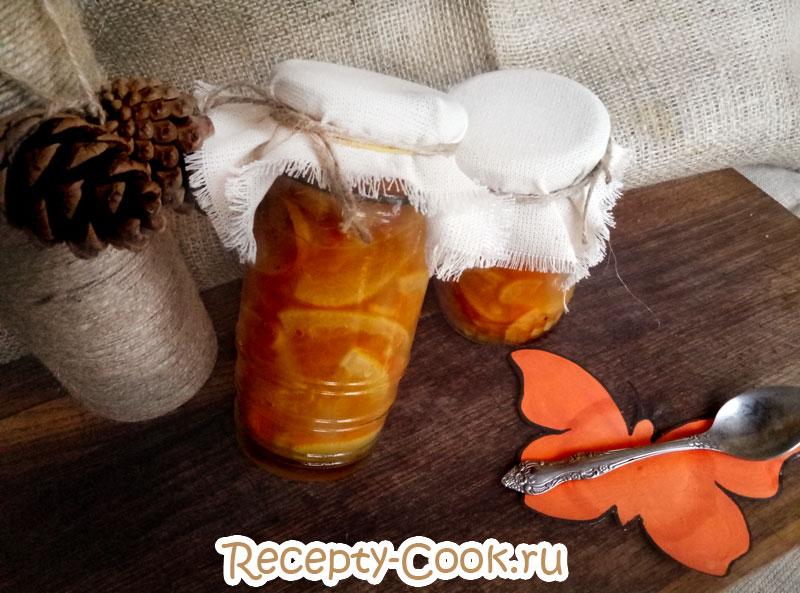 как приготовить апельсиновый конфитюр