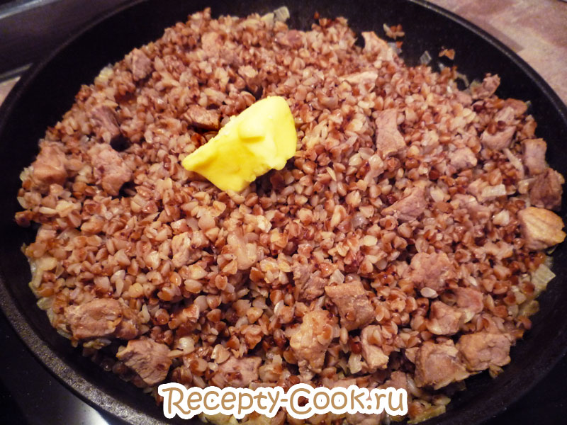 гречневая каша с мясом рецепт с фото