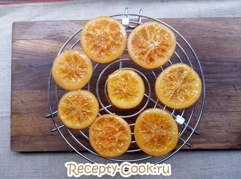 цукаты из апельсинов в шоколаде