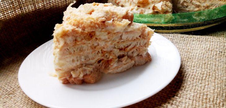 Торт Наполеон из «ушек»