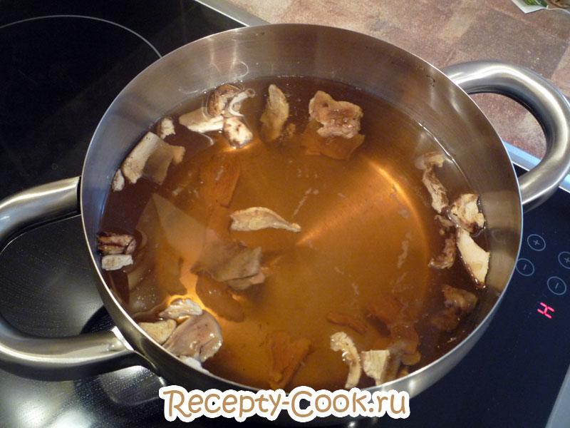 пшенная каша с грибами рецепт