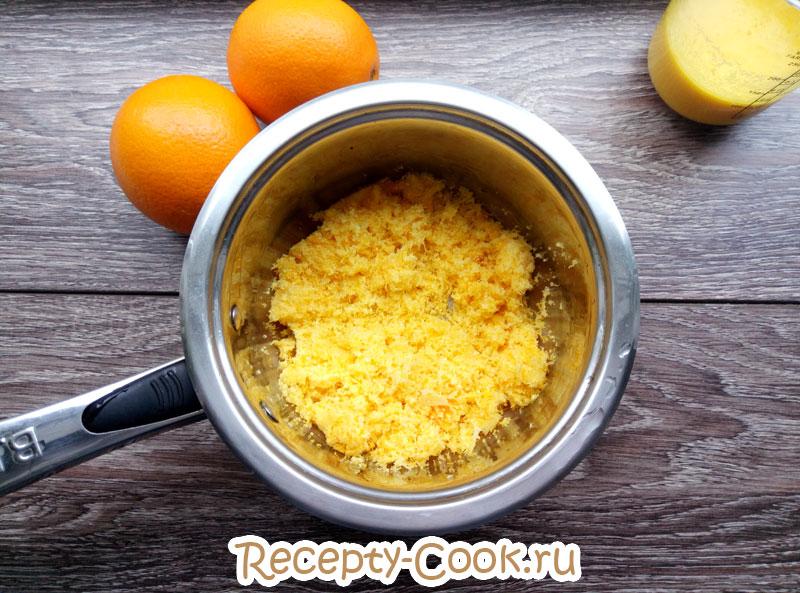 кисель из апельсинов рецепт