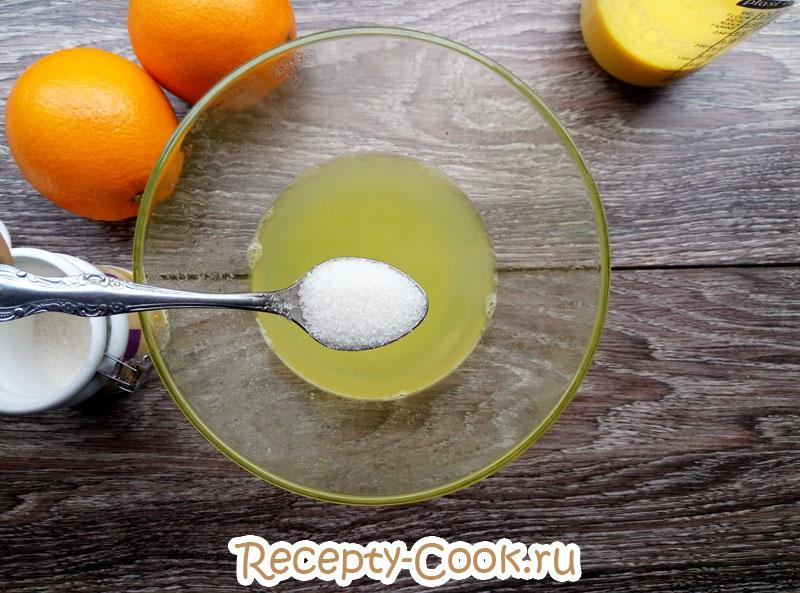 кисель из апельсинов рецепт с фото