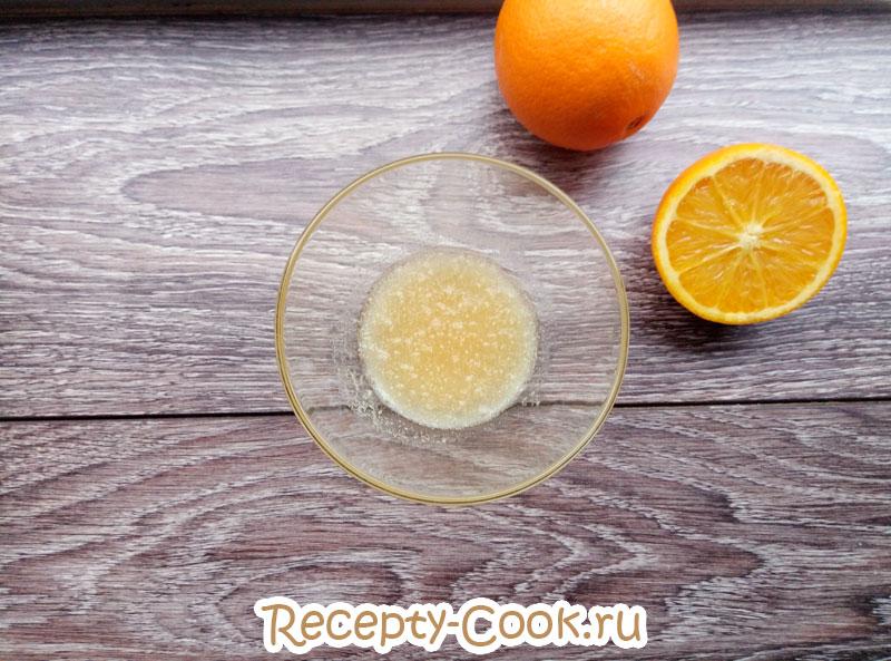 мусс из апельсинов