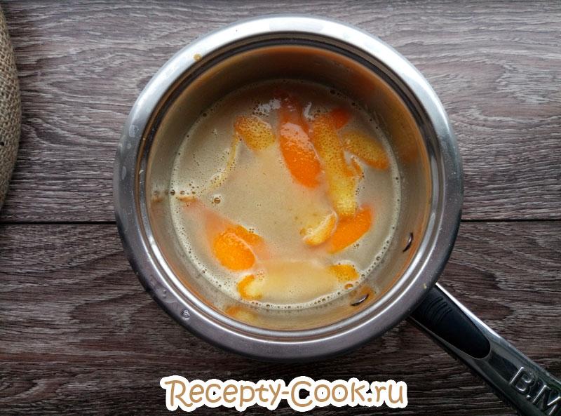 апельсиновый мусс рецепт