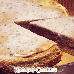 Бисквит со сметанно-банановым кремом