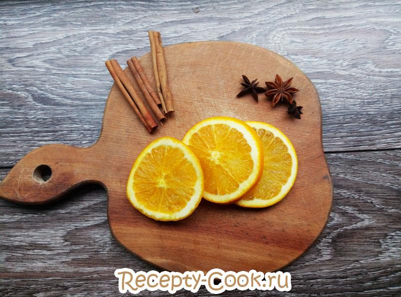 чай с апельсином рецепт