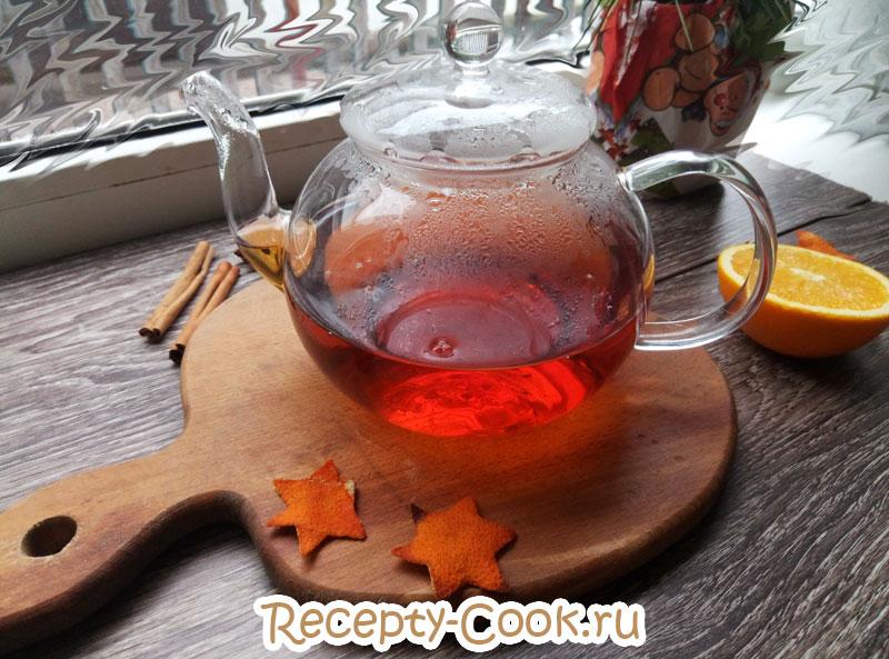 чай с корицей и апельсином рецепт