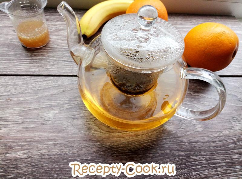 Чай с желатином