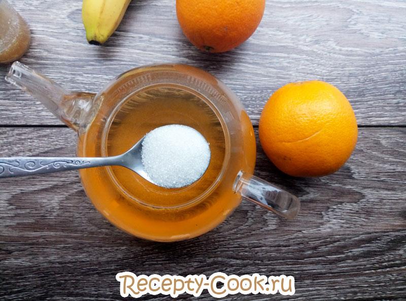желе из чая рецепт