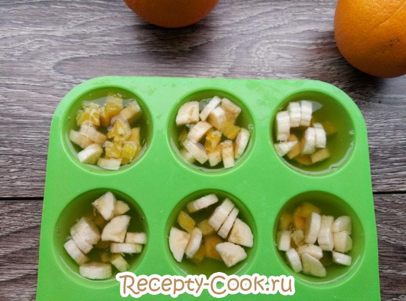 фруктовое желе из чая