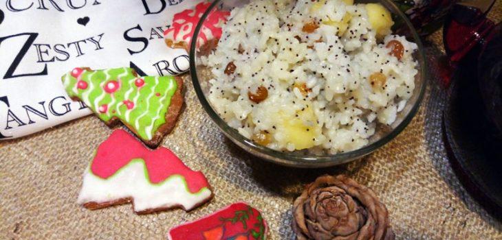 Кутья из риса на Рождество