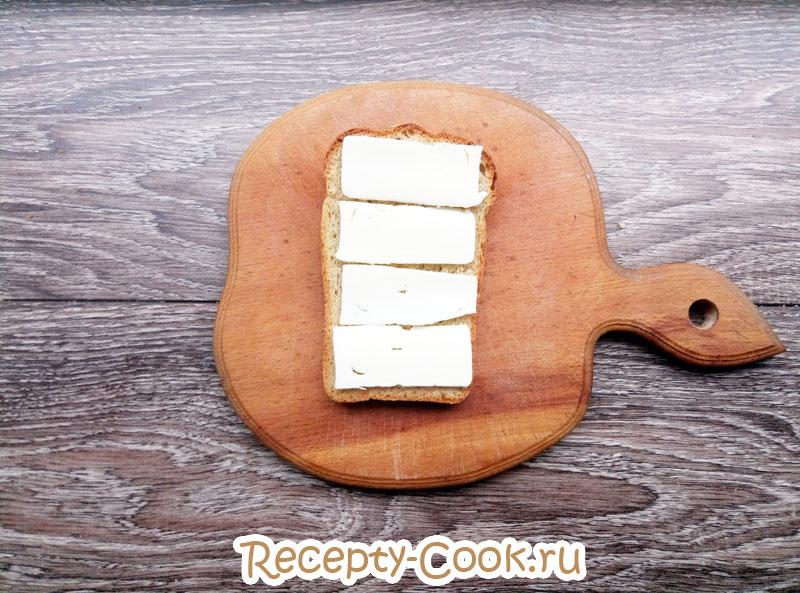 рецепт горячих бутербродов с сыром