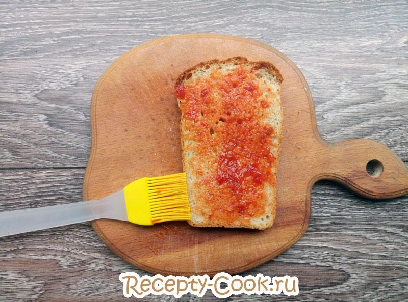 горячие бутерброды с сыром фото