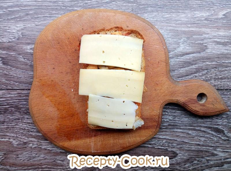 горячие бутерброды с сыром на сковороде рецепты
