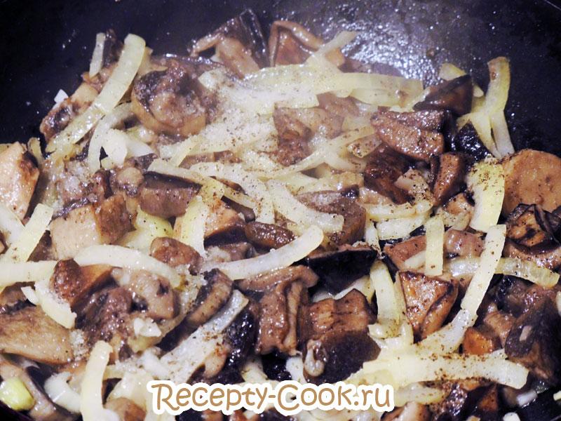 рецепт грибов в горшочках в духовке