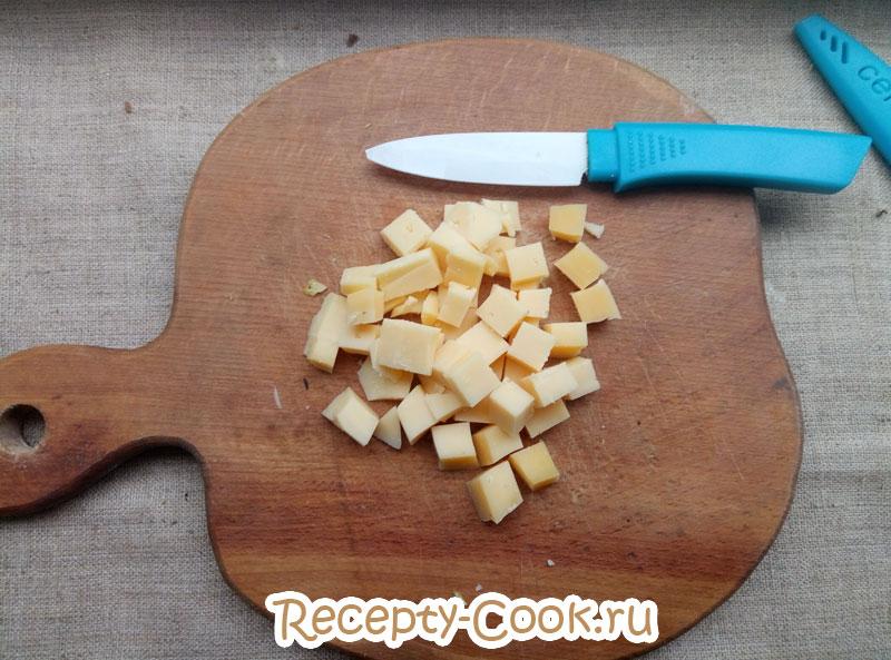 салат цезарь с курицей простой рецепт