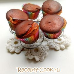 Творожные кексы в духовке