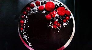 Глянцевая глазурь для торта