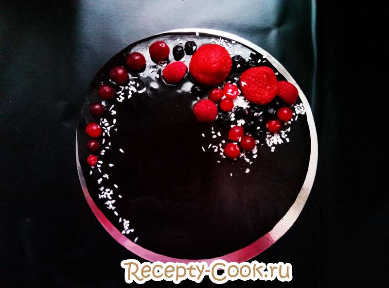 глянцевая глазурь для торта рецепт с фото