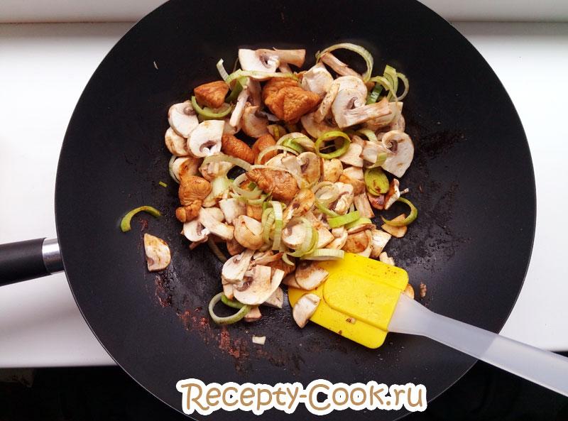 Рецепт вок лапши