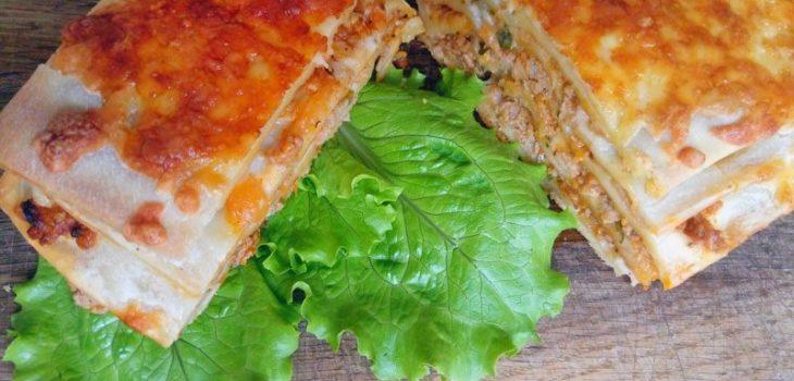 Как приготовить лазанью в домашних условиях с фаршем рецепт пошаговый
