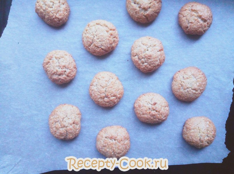 простой рецепт овсяного печенья из овсяных хлопьев