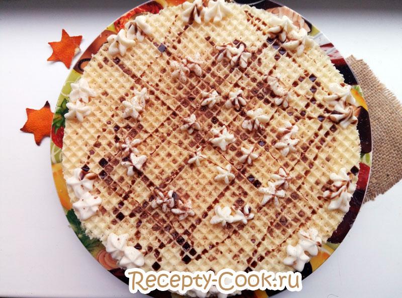 Рецепт с готовыми коржами с фото