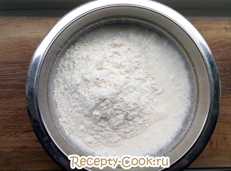 открытый вишневый пирог рецепт