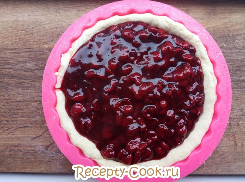 вишневая начинка для открытого пирога