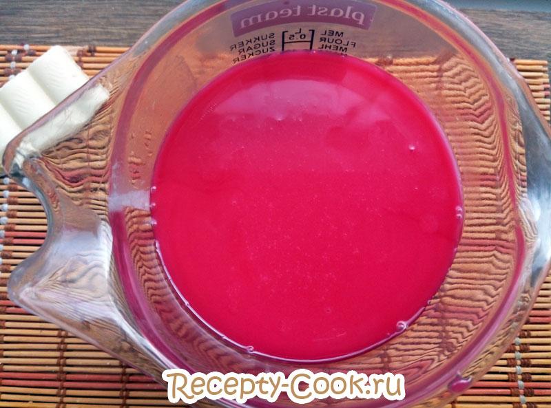 зеркальная глазурь для торта цветная фото