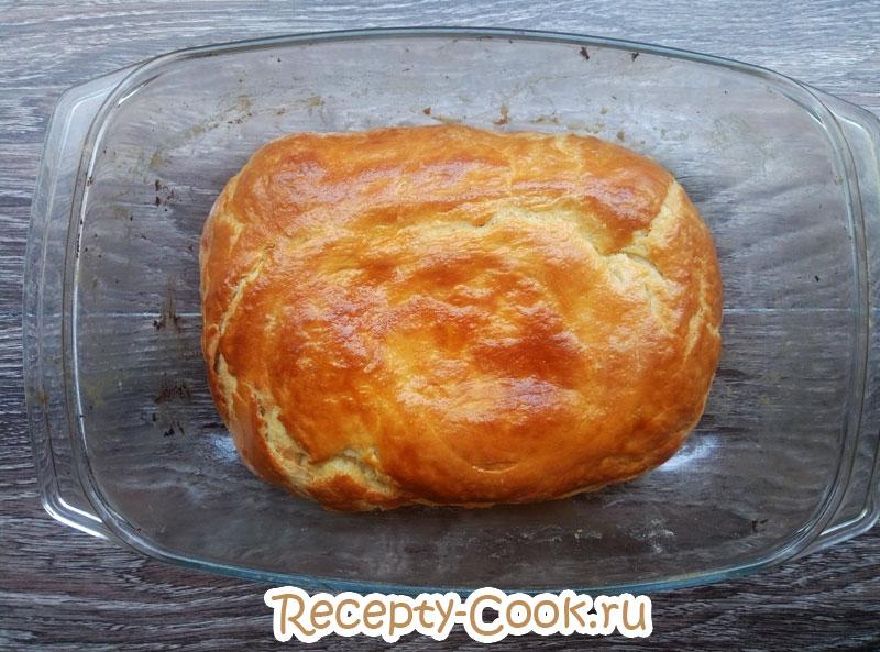 Рецепт пирога фытыр по египетски с пошагово