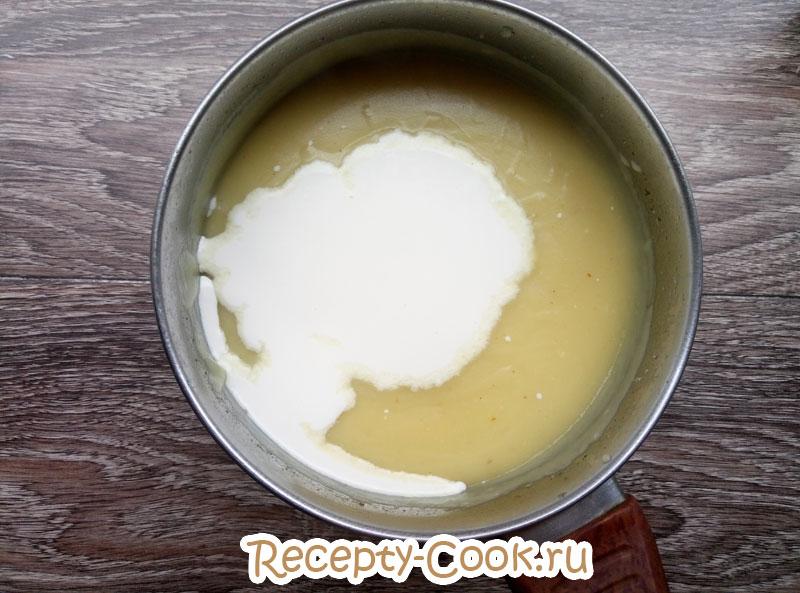 картофельный суп пюре со сливками