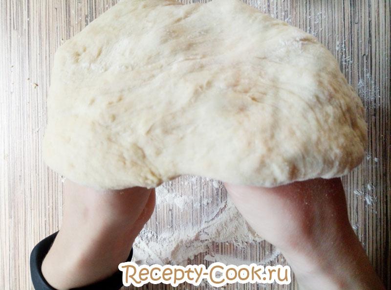 тесто для пиццы пышное рецепт с фото