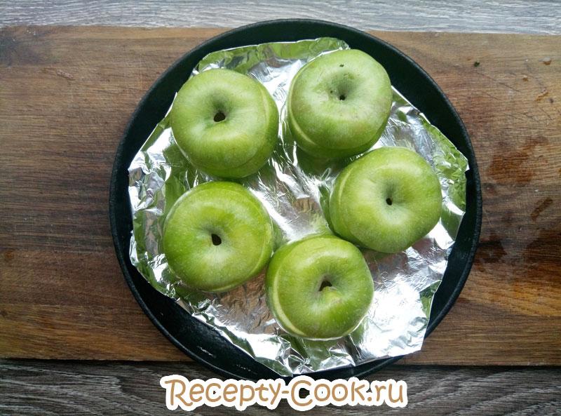 печеные яблоки фото