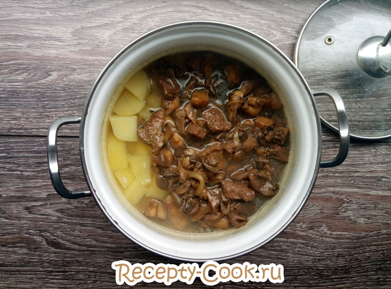 рецепт жаркого с картошкой