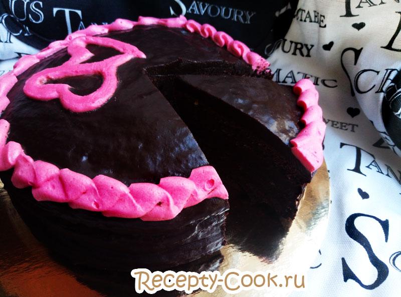 торт пища дьявола рецепт с фото пошагово