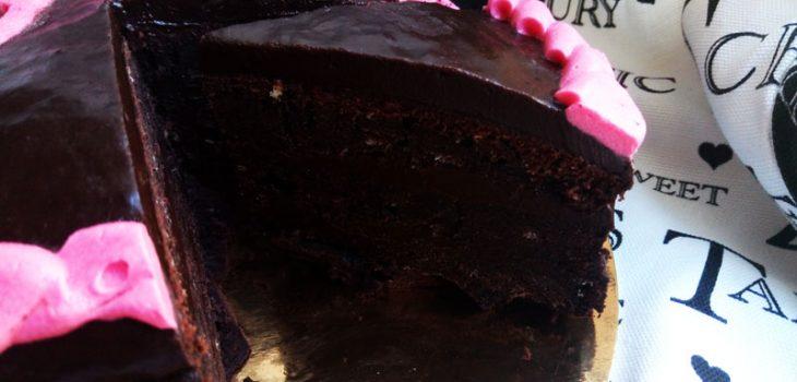 Шоколадный торт дьявола