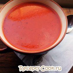 Суп из томатного сока «Экономный»