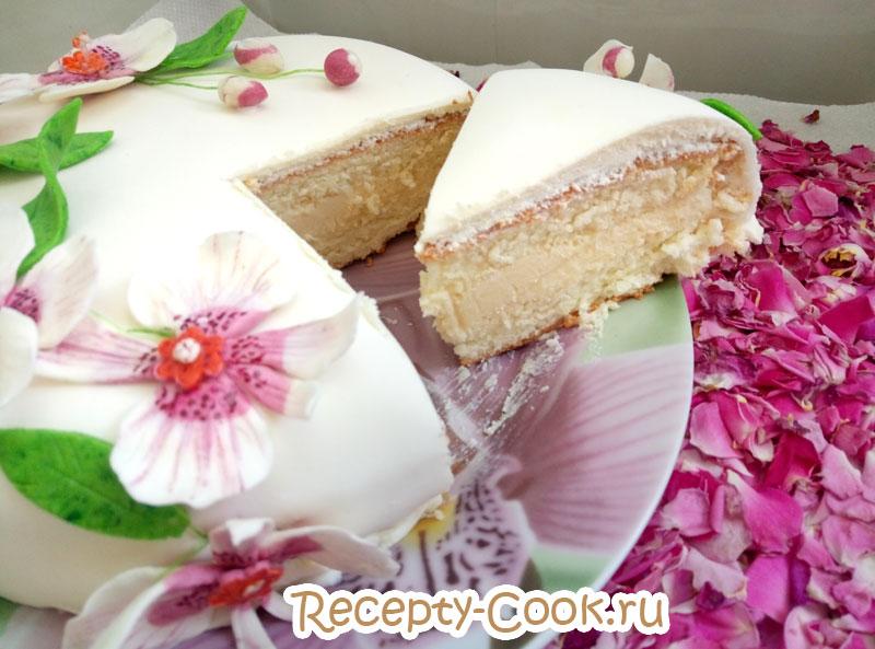 крем для торта рафаэлло рецепт