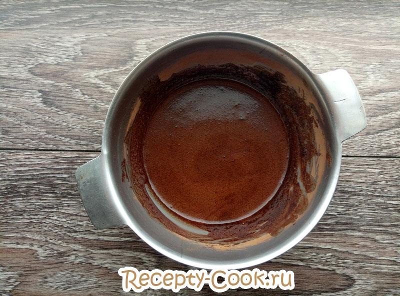 шоколадный соус из какао