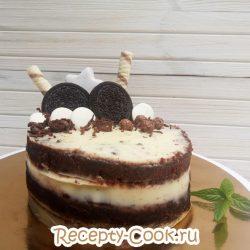 Домашний торт с шоколадом