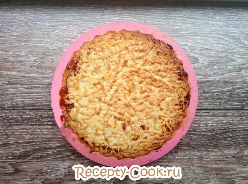 пошаговый тертый пирог